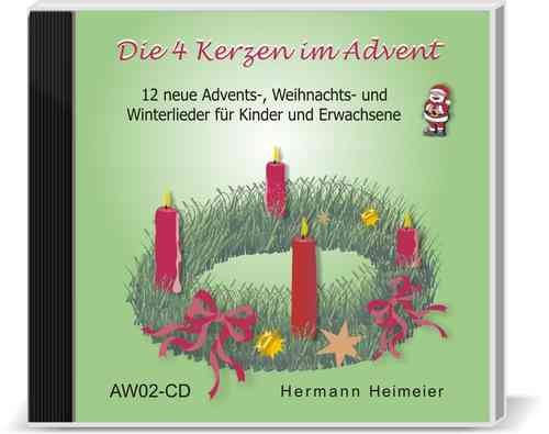 Die 4 Kerzen im Advent (Audio-CD)