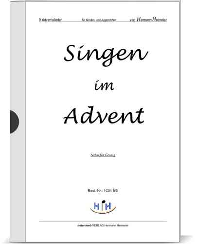 Singen im Advent (9 Adventslieder, Singstimme)