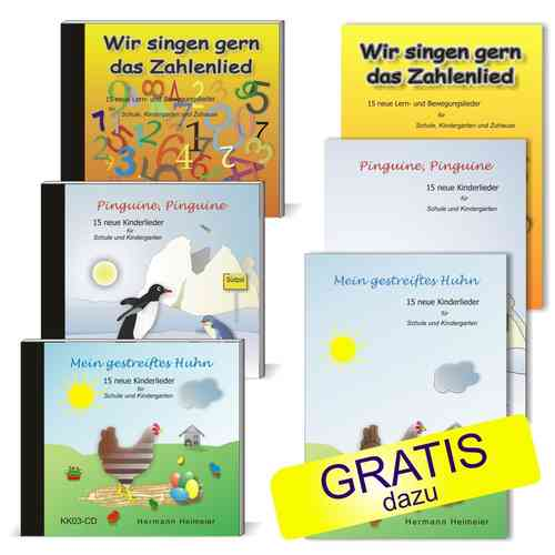 CD-Set Kinderlieder Sommer-Aktion