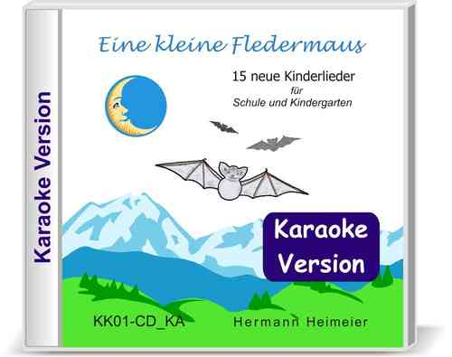 Eine kleine Fledermaus [Karaoke-Version] (Audio-CD)