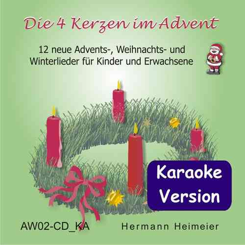 Die 4 Kerzen im Advent [Karaoke] (mp3)