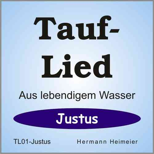 Tauflied [Justus] (mp3)