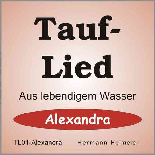 Tauflied [Alexandra] (mp3)