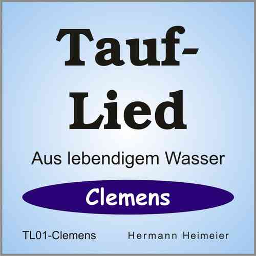 Tauflied [Clemens] (mp3)