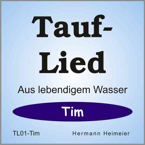 Tauflied [Tim] (mp3)