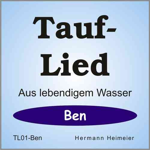Tauflied [Ben] (mp3)