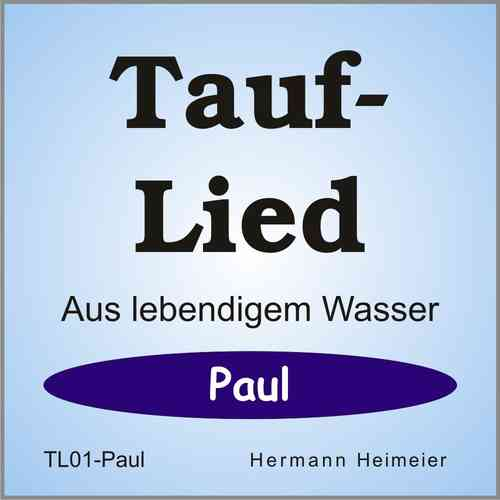 Tauflied [Paul] (mp3)