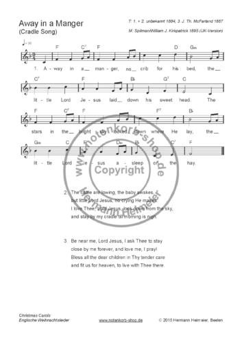 Weihnachtslieder Klavier Pdf.Christmas Carols Englische Weihnachtslieder Pdf
